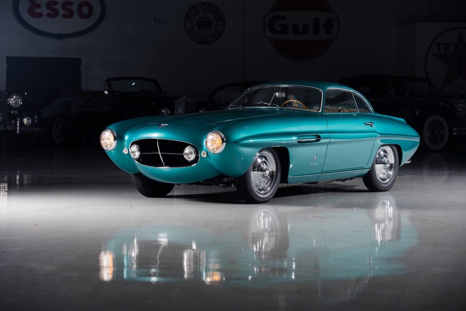 fiat 8v ghia supersonic 1 1600x1068 - 1953 Fiat 8V Ghia Supersonic