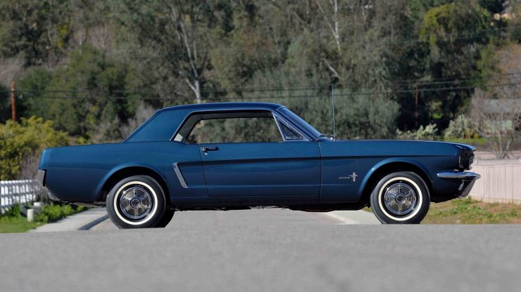 1965 Ford Mustang 1 740x416 - The First Ford Mustang Hardtop