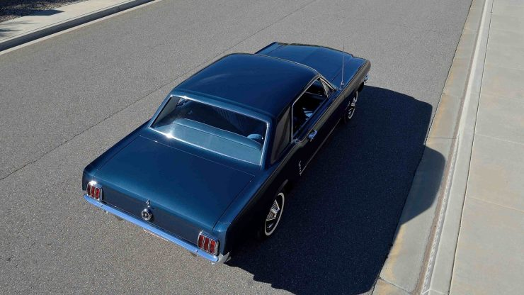 1965 Ford Mustang 10 740x416 - The First Ford Mustang Hardtop