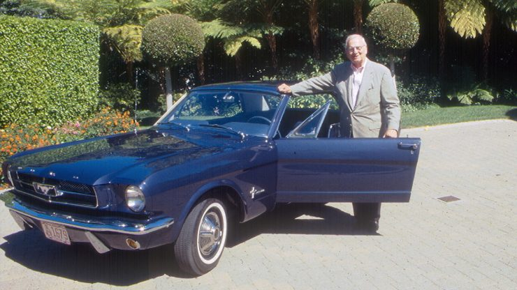 1965 Ford Mustang 11 740x416 - The First Ford Mustang Hardtop