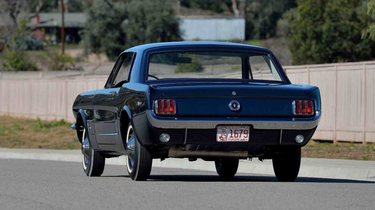 1965 Ford Mustang 2 740x416 - The First Ford Mustang Hardtop