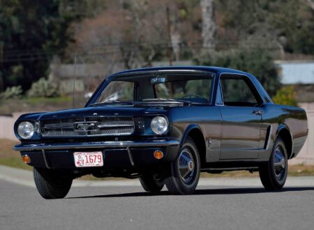 1965 Ford Mustang 450x330 - The First Ford Mustang Hardtop
