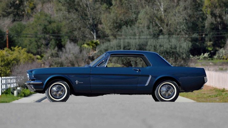 1965 Ford Mustang 7 740x416 - The First Ford Mustang Hardtop