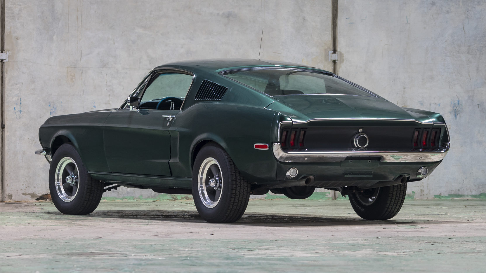 The bullitt spec mustang shown here