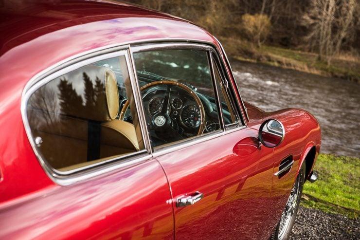 1971 Aston Martin DB6 MKII Vantage window 740x493 - Aston Martin DB6 MKII Vantage