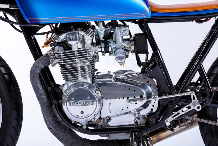 Honda CB550 engine