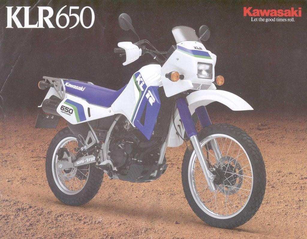 A Brief History Of The Kawasaki Klr650