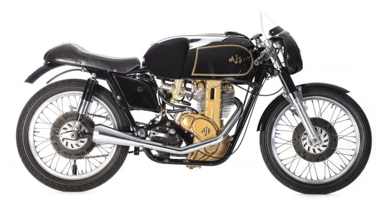 AJS 7R Motorcycle 2 740x407 - AJS 7R - The Boy Racer