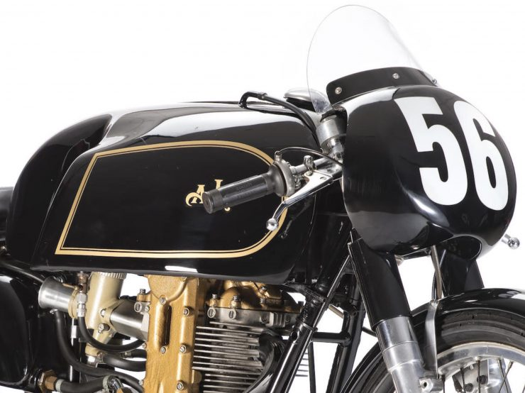 AJS 7R Motorcycle Cowling 740x554 - AJS 7R - The Boy Racer
