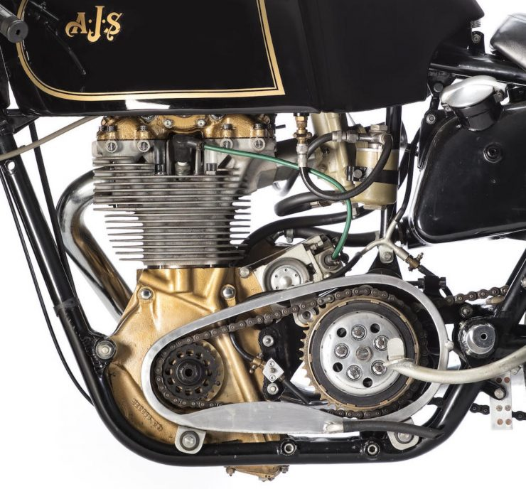 AJS 7R Motorcycle Engine 740x688 - AJS 7R - The Boy Racer