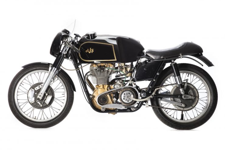 AJS 7R Motorcycle Left Side 740x493 - AJS 7R - The Boy Racer