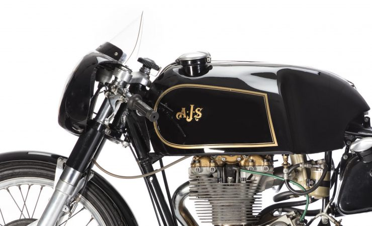 AJS 7R Motorcycle Left Side Tank 740x450 - AJS 7R - The Boy Racer