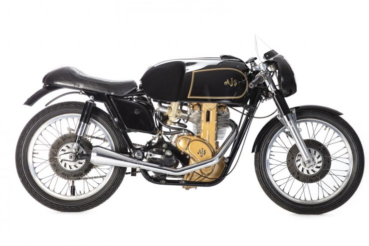 AJS 7R Motorcycle Right Side 740x494 - AJS 7R - The Boy Racer
