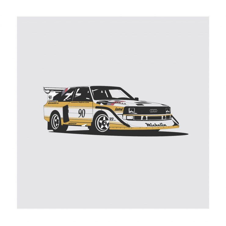Audi Quattro NoWM 740x740 - German Icons by Remove Before