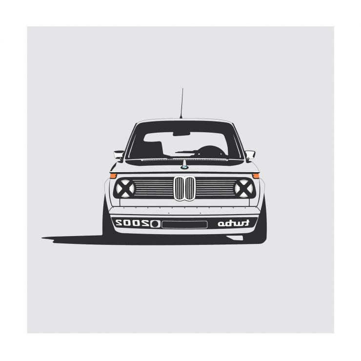 BMW 2002 turbo 740x740 - German Icons by Remove Before