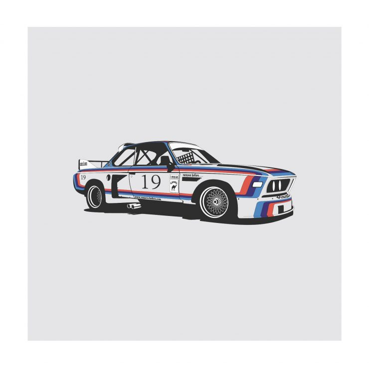 BMW CSL NoWM 740x740 - German Icons by Remove Before