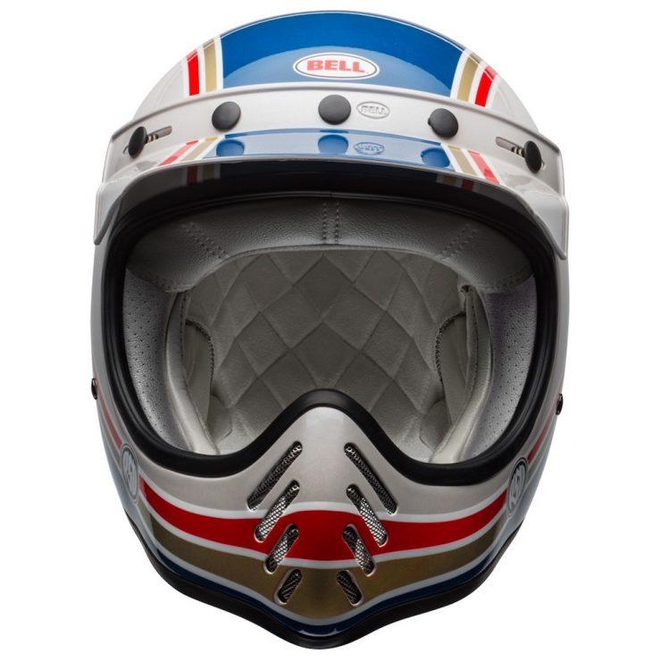Bell Moto 3 RSD Malibu Helmet Front 740x740 - Bell Moto-3 RSD Malibu Helmet