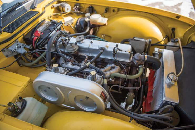 Buying Guide Triumph TR6 Engine 740x494 - The Essential Triumph TR6 Buying Guide