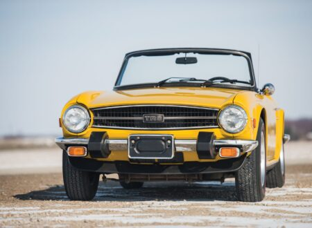 Buying Guide Triumph TR6 Front 450x330 - The Official Triumph TR6 Buying Guide