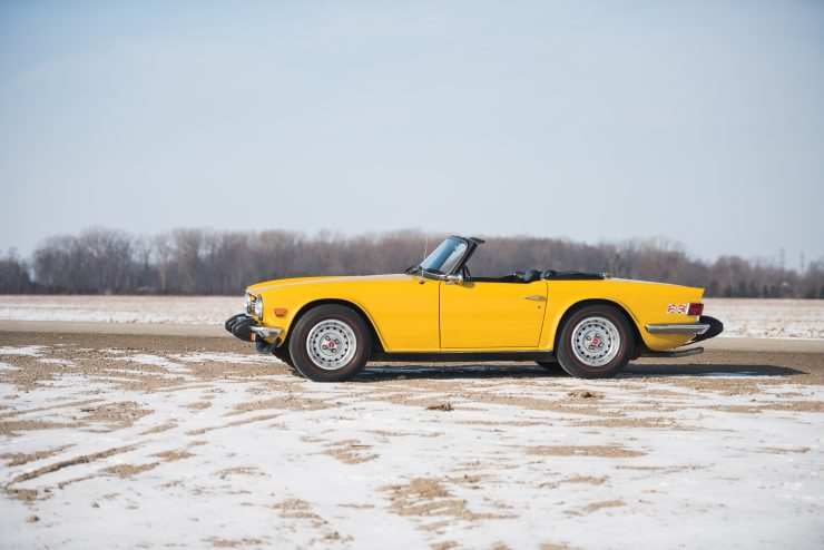 Buying Guide Triumph TR6 Side 740x494 - The Essential Triumph TR6 Buying Guide