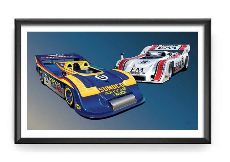 Can Am Porsche 91710 91730 Team Penske Print 1 740x523 - Can-Am Porsche 917/10 & 917/30 Team Penske Print