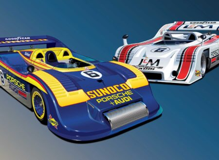 Can Am Porsche 91710 91730 Team Penske Print 450x330