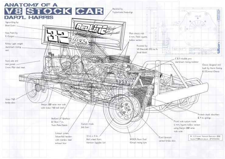 Cutaway Illustrations of Roy Scorer 6 740x523 - The Illustrations of Roy Scorer
