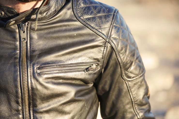 Dirt Track Motorcycle Jacket by Helstons Fuel 2 740x494 - Dirt Track Motorcycle Jacket by Helstons + Fuel