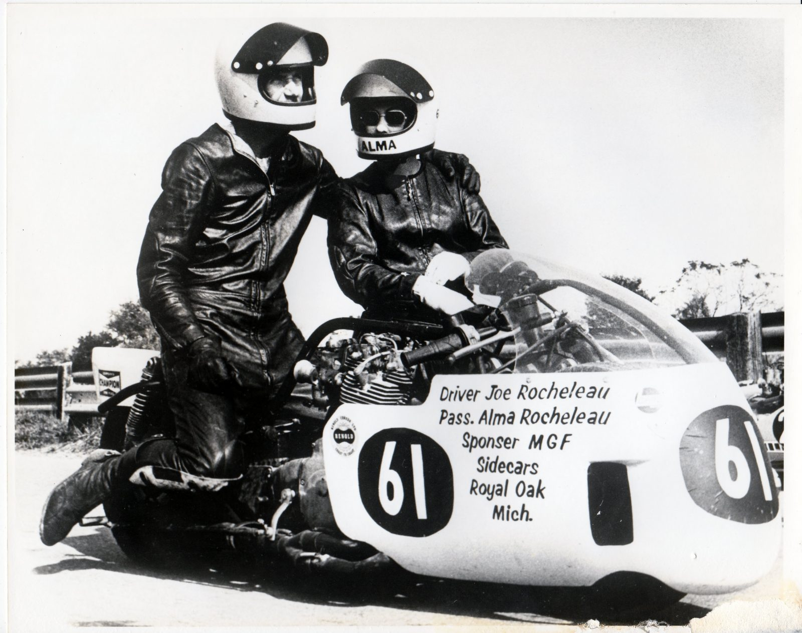 Joe and Alma - The First American Couple To Race The Isle Of Man TT