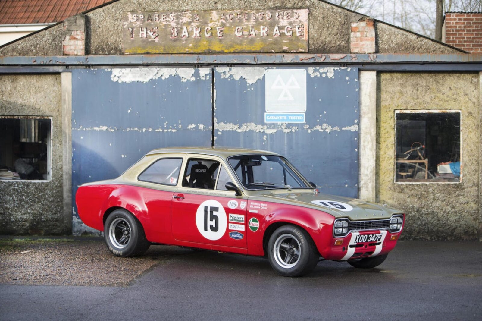 Original ford escort mki works racer
