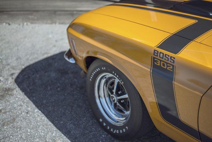 Ford Mustang Boss 302 1 740x494 - 1970 Ford Mustang Boss 302
