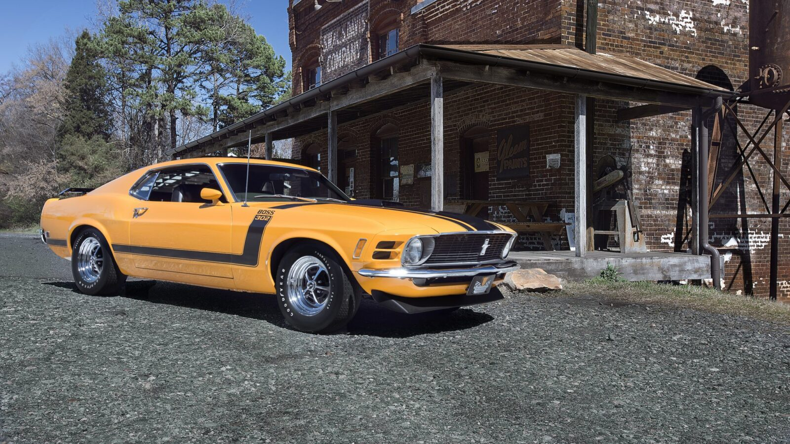 Ford Mustang Boss 302 1600x900 - 1970 Ford Mustang Boss 302