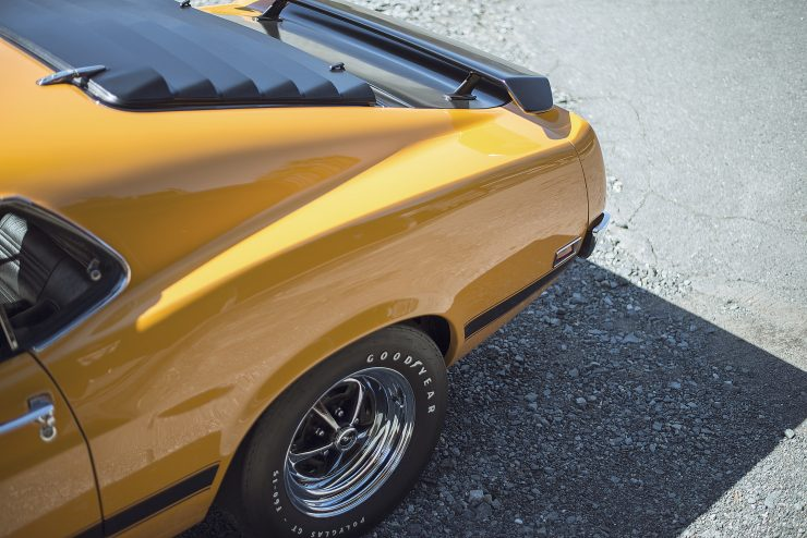 Ford Mustang Boss 302 5 740x494 - 1970 Ford Mustang Boss 302