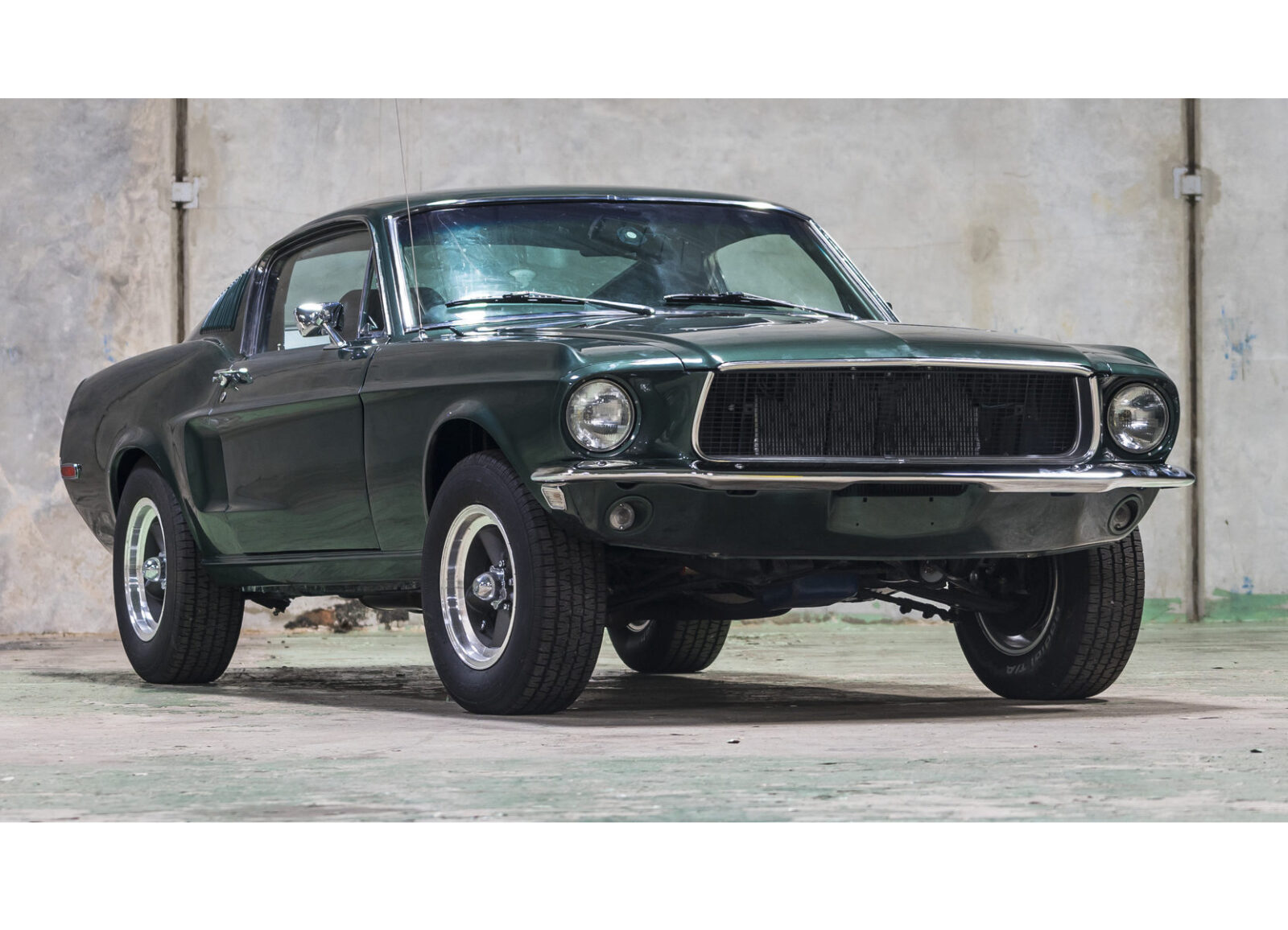 All Types mustang pictures : Bullitt-Spec 1968 Ford Mustang Fastback