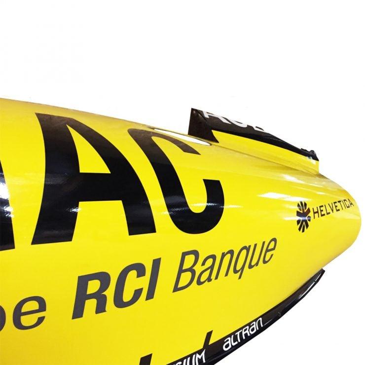 Formula 1 Part Mementos Detail 740x740 - Renault Formula One Sidepod