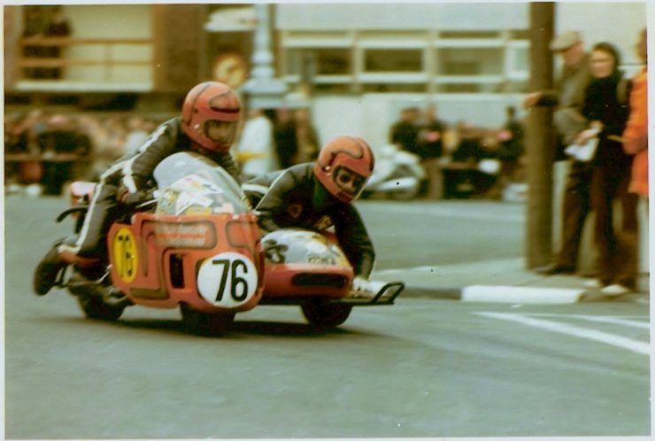 IOM TT 06 740x498 - Joe and Alma - The First American Couple To Race The Isle Of Man TT
