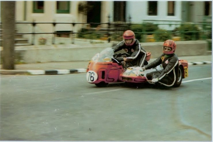 IOM TT 14 740x495 - Joe and Alma - The First American Couple To Race The Isle Of Man TT