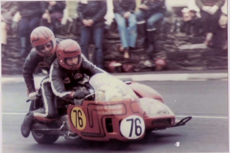 IOM TT 15 740x495 - Joe and Alma - The First American Couple To Race The Isle Of Man TT