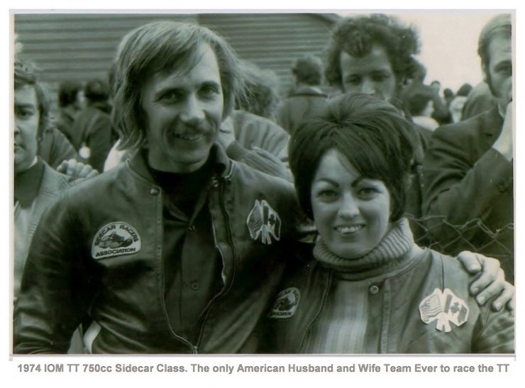 IOM TT 1974 06A 740x547 - Joe and Alma - The First American Couple To Race The Isle Of Man TT