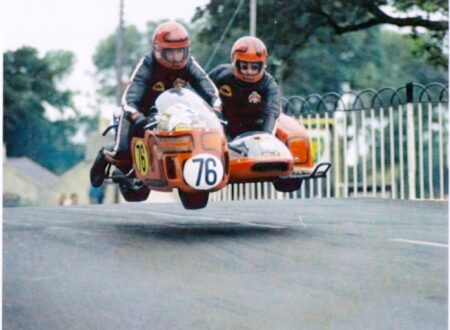 IOM TT 33 450x330 - Joe and Alma - The First American Couple To Race The Isle Of Man TT