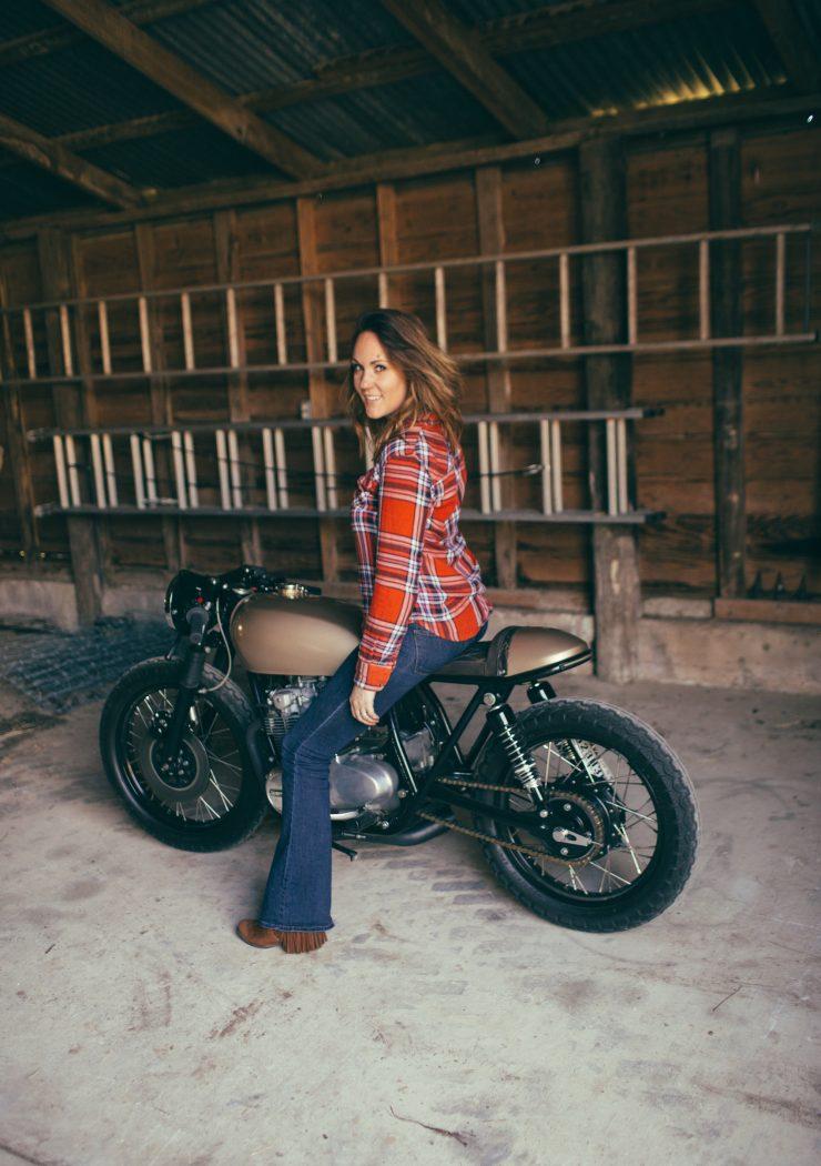 Karly Kothmanns Honda CB550 12 740x1050 - Karly Kothmann's Honda CB550