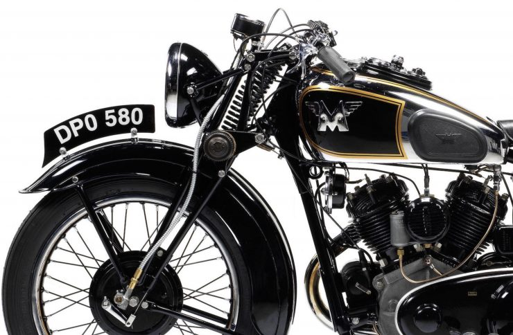 Matchless Model X Front Wheel 740x484 - Matchless Model X