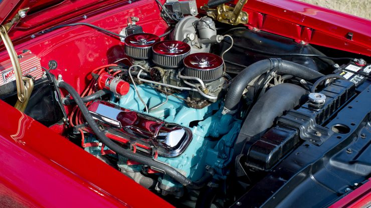 Pontiac GTO Engine 2 740x416 - 1966 Pontiac GTO
