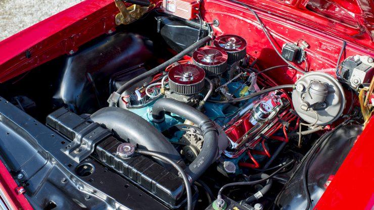 Pontiac GTO Engine 740x416 - 1966 Pontiac GTO