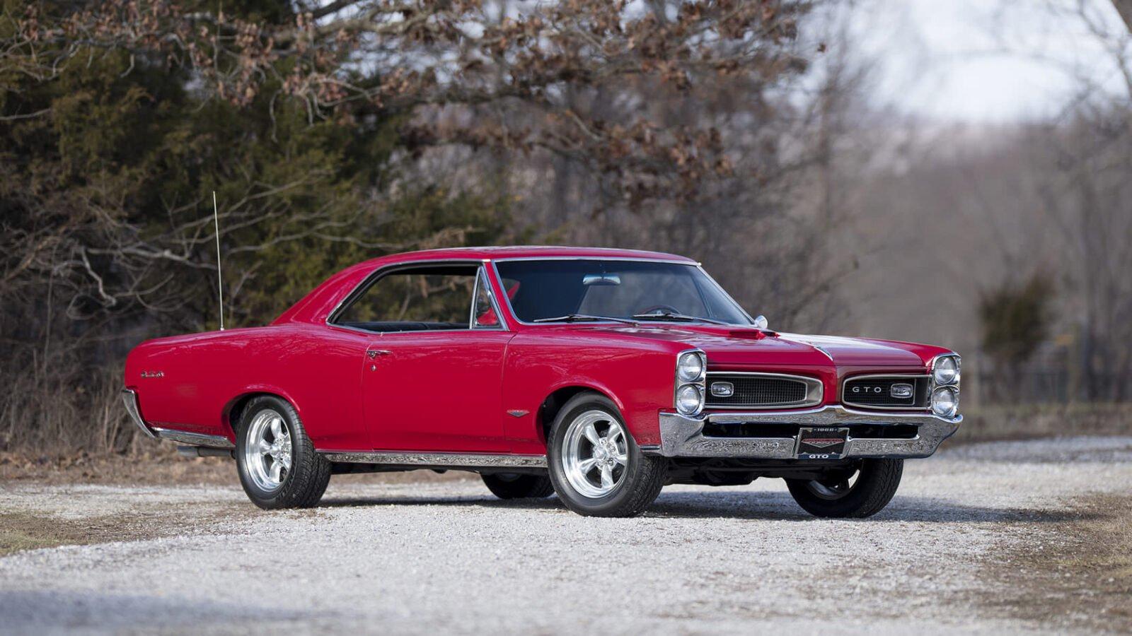 Pontiac GTO Front Angle 1600x900 - 1966 Pontiac GTO