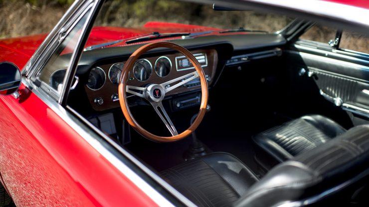 Pontiac GTO Steering Wheel 740x416 - 1966 Pontiac GTO