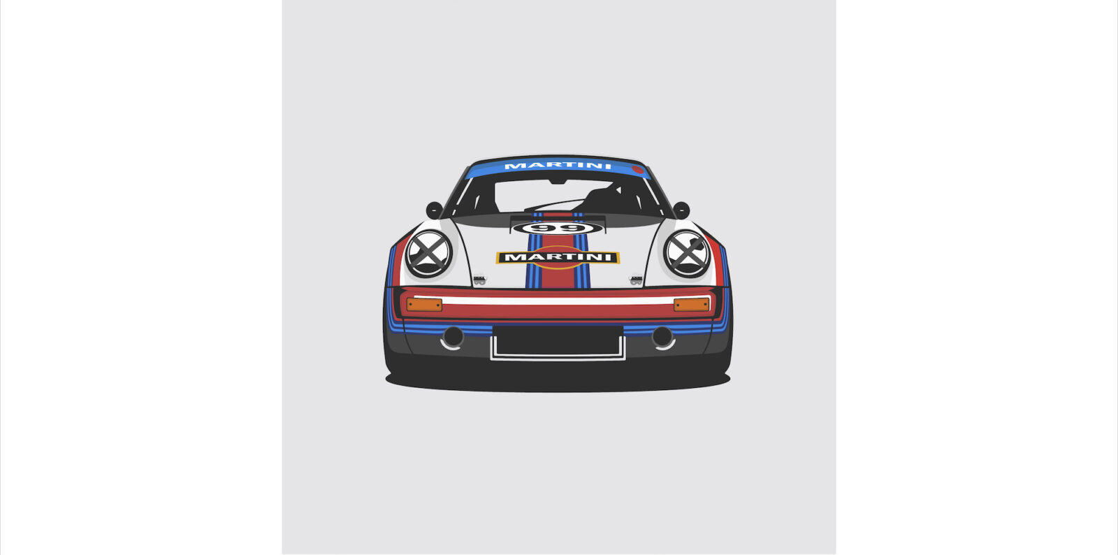 Porsche 911 RS Martini 1600x794 - German Icons by Remove Before