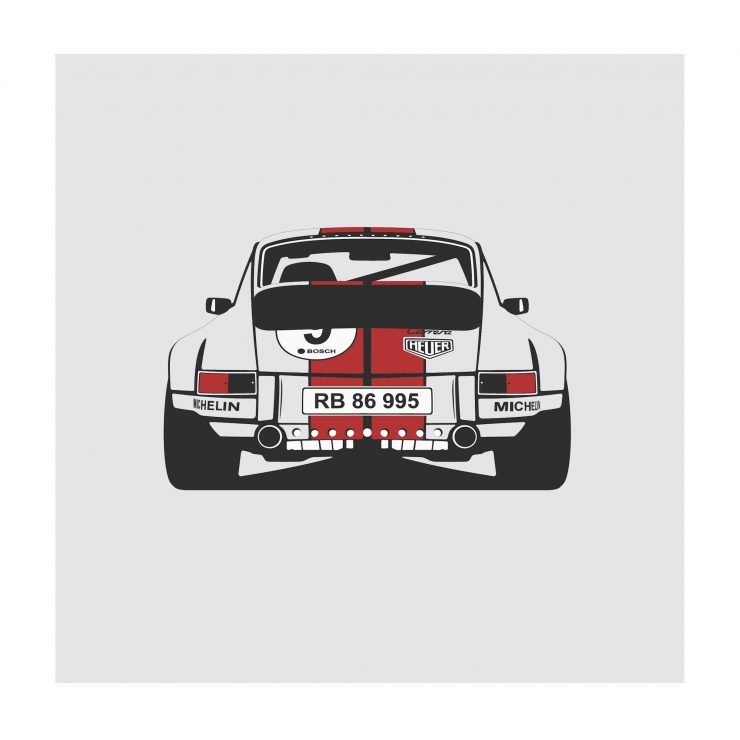 Porsche 911 rear NoWM 740x740 - German Icons by Remove Before