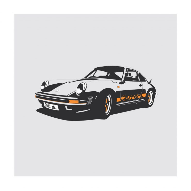 Porsche 911 NoWM 740x740 - German Icons by Remove Before
