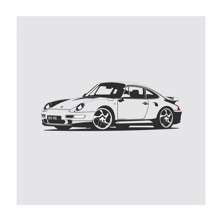 Porsche 993 NoWM 740x740 - German Icons by Remove Before